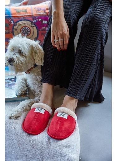 Arma Shoes Erkek Relax Ev Terliği Kırmızı